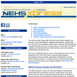 April 2013 NEHSXPress