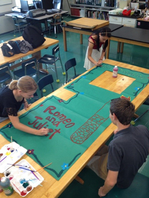 Designing the Romeo and Juliet Door cover