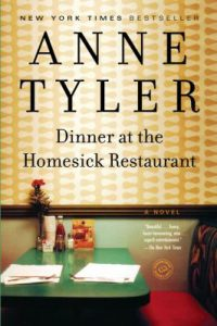 Dinner at the Homesick Restaurant by Anne Tyler - cover