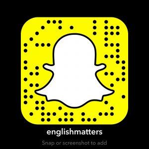 englishmatters snapcode