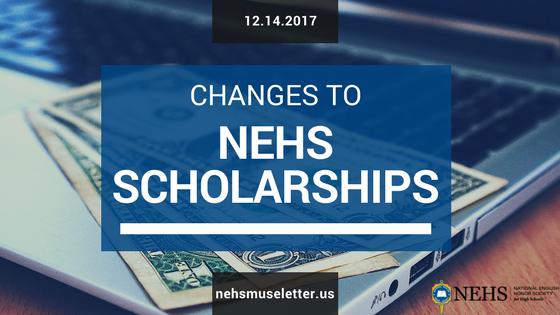NEHS Scholarships