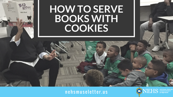 How to Serve Books with Cookies