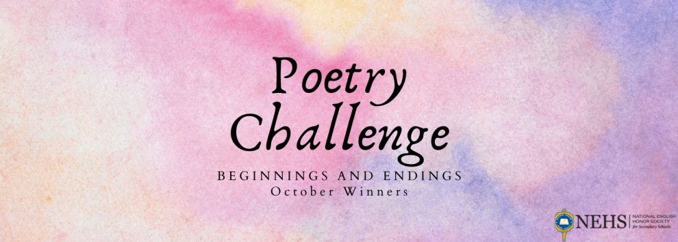 October Poetry Challenge Winners