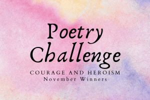 November Poetry Challenge Winners