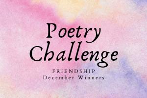 December Poetry Challenge Winners