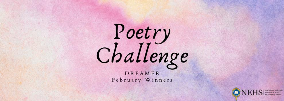 February Poetry Challenge Winners