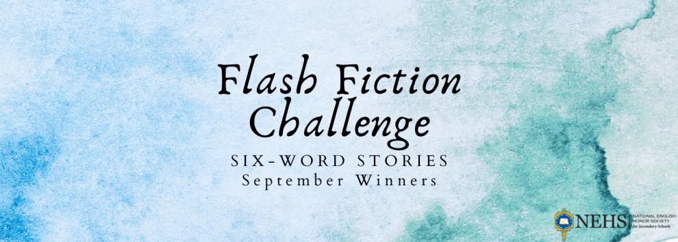 Semptember Flash Fiction Winners